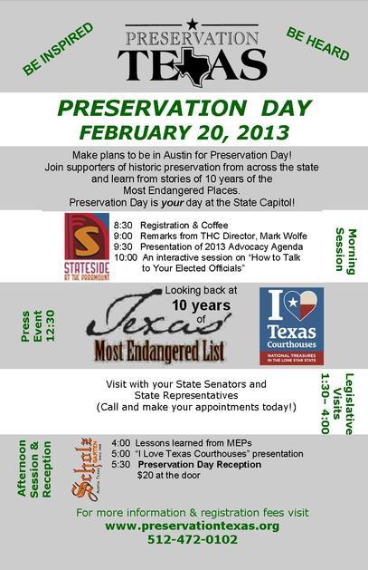 Preservation Day 2013 Flyer 2